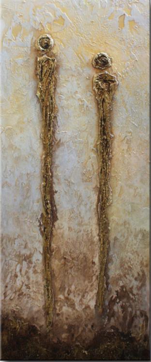 schilderij Relationship van Ines