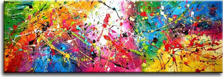 Abstracte kunst kopen - Associatie van kleur e geen schilderij ...