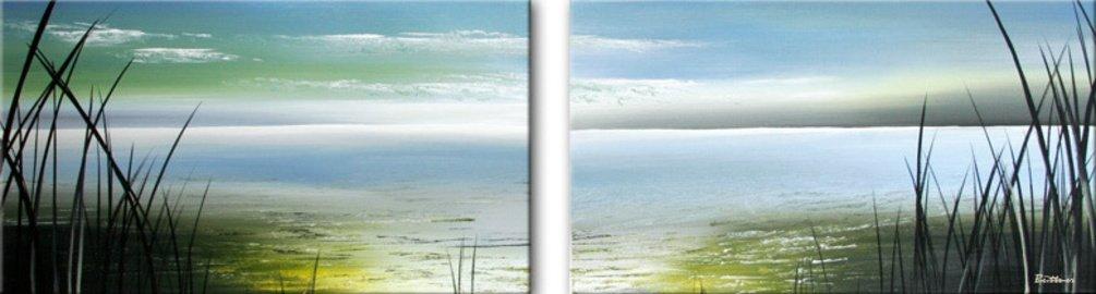 schilderij Endless Sea van Buttner