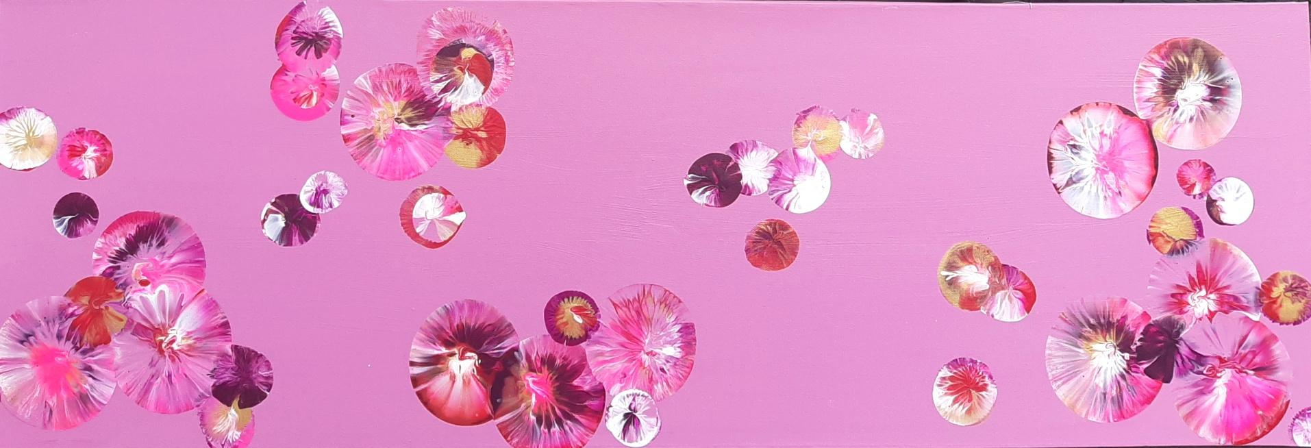 Schilderij 'Bubbles' van Sacha