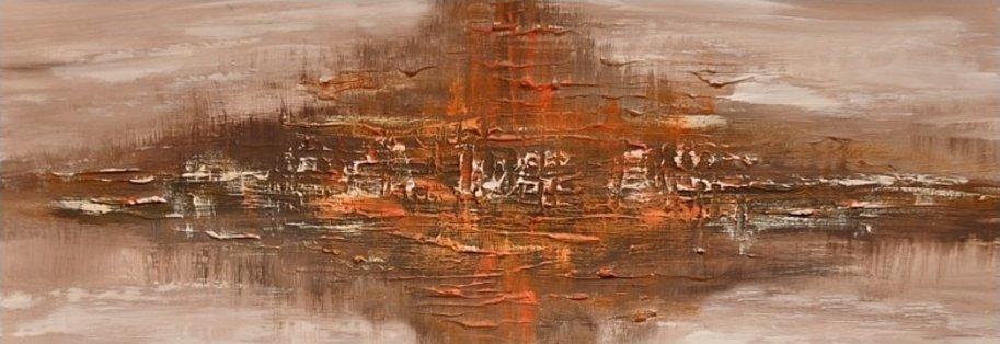 Schilderij The Horizon 2 van Aleksandra