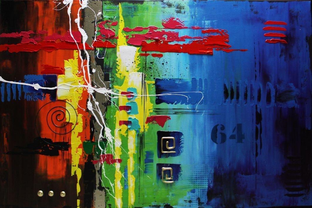 schilderij Ibiza van Ines