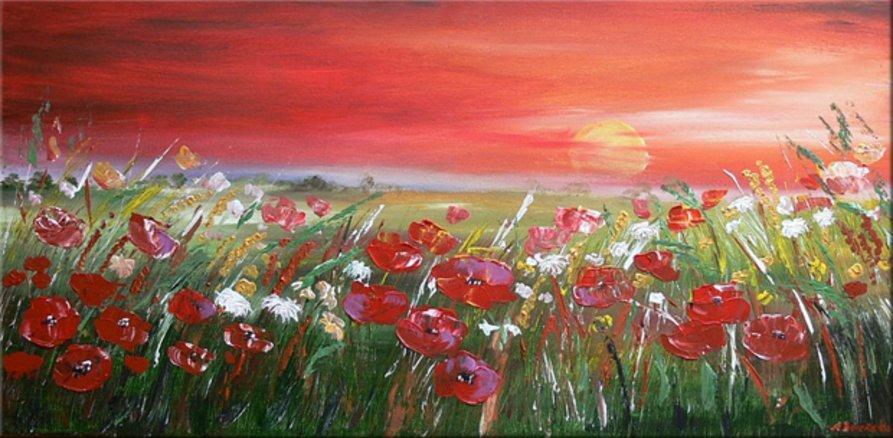 Red Sunset - Aleksandra