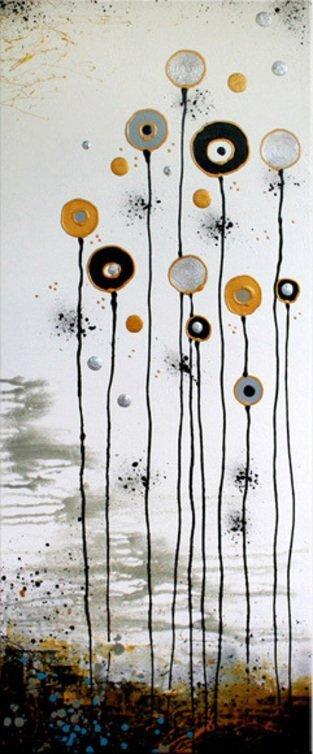 schilderij White Garden van Ines