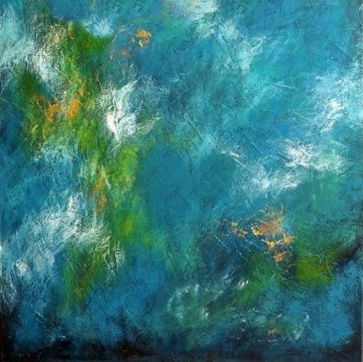 schilderij Nebula U8 van Aleksandra