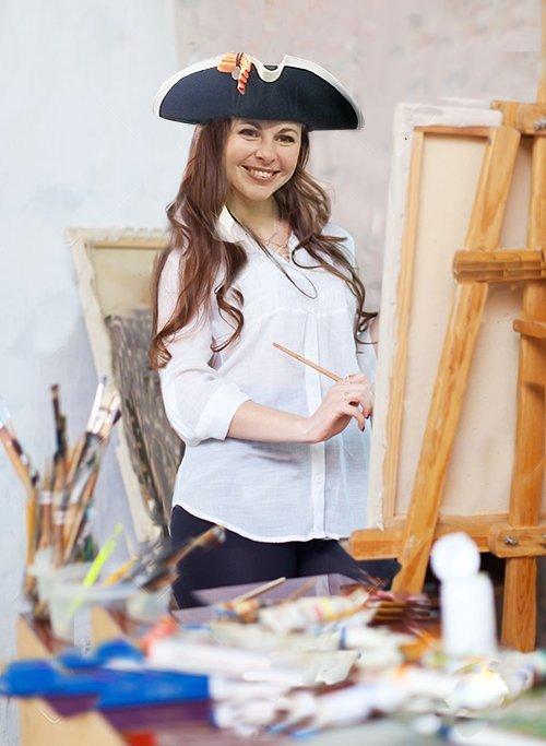 Irina in atelier